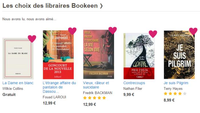 choix des libraires