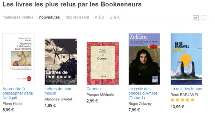 Les livres les plus relus par les Bookeeneurs