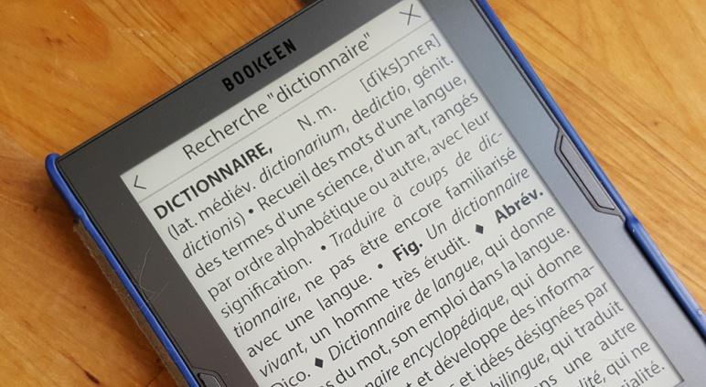 Astuce Tout Sur Le Dictionnaire De Votre Cybook Le Blog De Bookeen