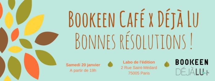 Bookeen Café _Bonnes résolutions_ - EVENT FB